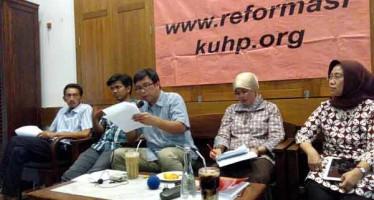 Pembahasan Rancangan KUHP di Komisi III selama Februari – Maret  2016 Melemah