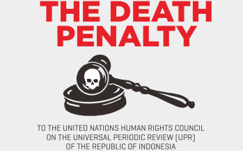 Joint Report on Issues on Death Penalty in Indonesia