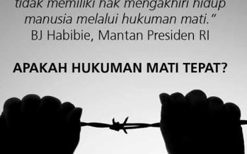 Paket Reformasi Bidang Hukum Presiden Joko Widodo Harusnya Dimulai dari Pembenahan Hukuman Mati