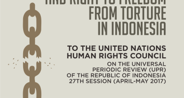 Joint Stakeholders Report on Issues Relating to the Revision of Penal Code and Situation of Torture in Indonesia