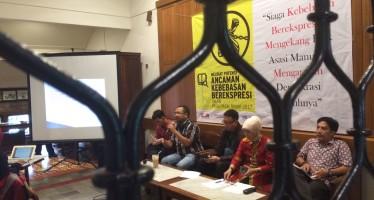 Potensi pengekangan Kebebasan Berekspresi Pasca Pembahasan Rancangan KUHP