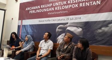 Isu Kesehatan dalam RKUHP Diabaikan, Program Pemerintah dan Komitmen Presiden Joko Widodo Terancam Gagal Direalisasikan