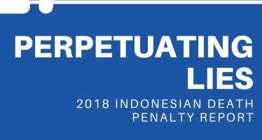 "2018 Indonesian Death Penalty Report: ""Perpetuating Lies"""