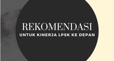 Rekomendasi Untuk Kinerja LPSK Ke Depan