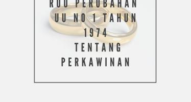 Naskah Akademik RUU Perubahan UU Perkawinan