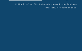 ICJR Policy Brief: EU – Indonesia Human Rights Dialogue