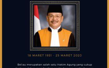 Selamat Jalan, Hakim Agung Maruap Dohmatiga Pasaribu