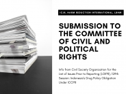 ICJR, Harm Reduction International, and LBHM Submission to the Committee of Civil and Political Rights
