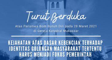 Bom Bunuh Diri di Gereja Katedral Makassar: ICJR Minta Pemerintah dan DPR untuk Utamakan Pemulihan Korban