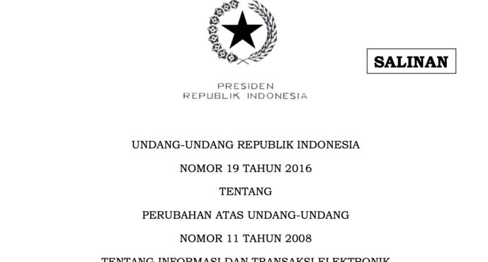 [Rilis Koalisi Serius] Koalisi Desak Transparansi Proses dan Partisipasi Publik Secara Kolaboratif Dalam Menyusun Revisi UU ITE