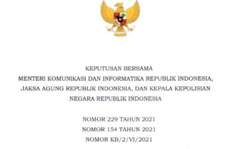 Pedoman Implementasi UU ITE Harus Menjadi Sinyal Penyegeraan Pembahasan Revisi UU ITE
